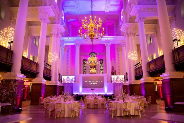Spitalfields Venue interior